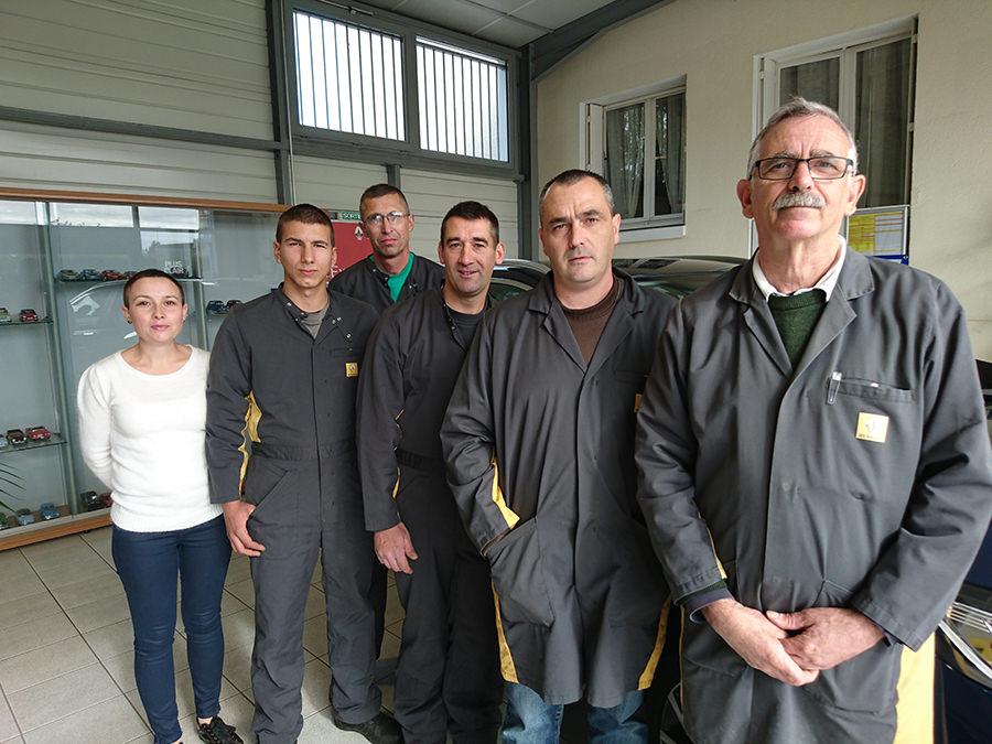 Équipe Garage de la Rocade