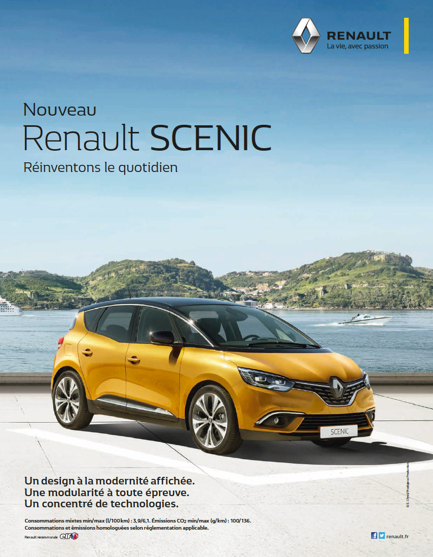 nouveau renault scenic garage de la rocade. Black Bedroom Furniture Sets. Home Design Ideas